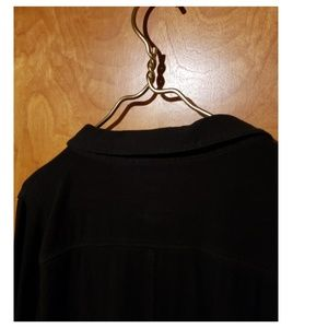 Sonoma Tops - Black Button-Up Collared Shirt